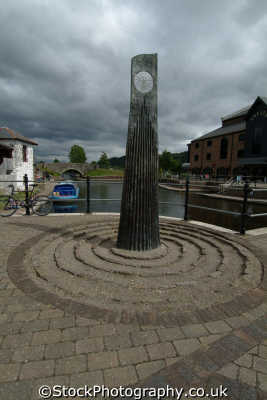 brecon canal basin art welsh nationalities nations misc. powys wales país gales united kingdom british