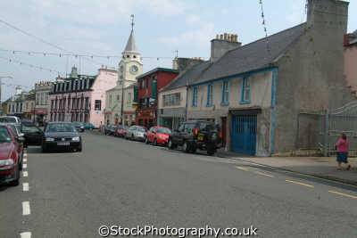 high street stranraer uk dumfries galloway dumfrieshire dumfriesshire scotland scottish scotch scots escocia schottland united kingdom british