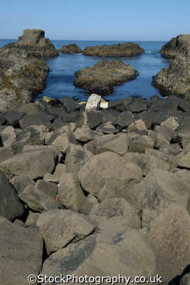 foreshore antrim coast uk coastline coastal environmental county aontroim northern ireland ulster irish irland irlanda united kingdom british
