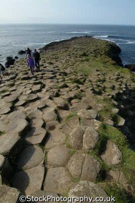 giant causeway uk coastline coastal environmental basalt columns hexagonal giants county antrim aontroim northern ireland ulster irish irland irlanda united kingdom british