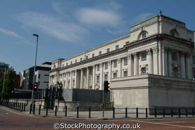 royal court justice belfast uk law courts legal prosecution british architecture architectural buildings beal feirste northern ireland ulster irish irland irlanda united kingdom