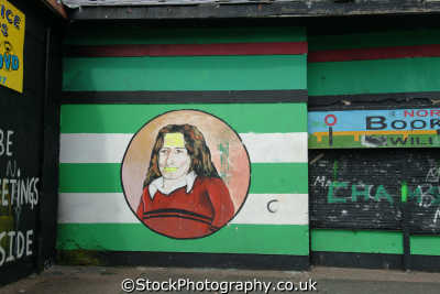 bobby sands mural bogside derry irish political murals arts misc. republican ira peace civil rights troubles catholic county londonderry doire northern ireland ulster irland irlanda united kingdom british