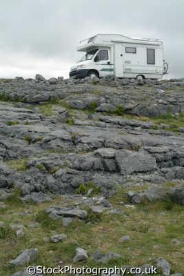 camper van burren camping caravanning leisure uk clare clár republic ireland eire irish irland irlanda europe european