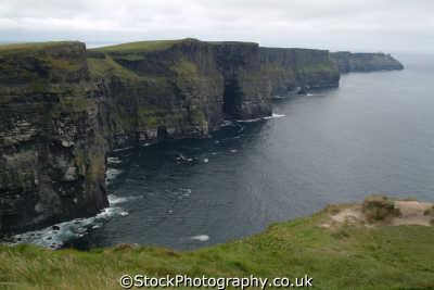 cliffs moher uk coastline coastal environmental clare clár republic ireland eire irish irland irlanda europe european