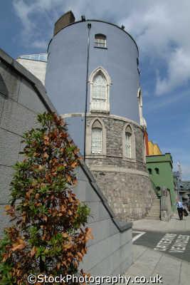 dublin castle bermingham tower british castles architecture architectural buildings uk historic tourism áth cliath republic ireland eire irish irland irlanda europe european