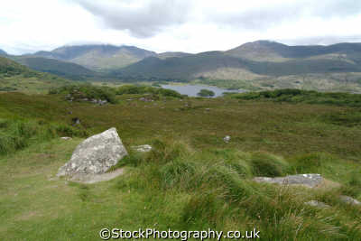 upper lake killarney moorland countryside rural environmental uk kerry ciarraí republic ireland eire irish irland irlanda europe european
