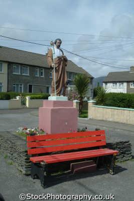 religious icon cahersiveen ring kerry uk statues british architecture architectural buildings catholic ciarraí republic ireland eire irish irland irlanda europe european