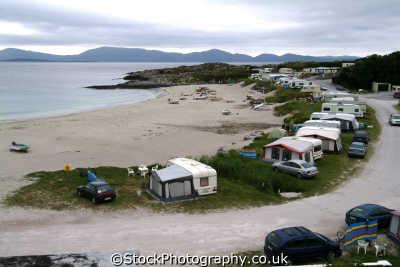 camping beach catherdaniel ring kerry caravanning leisure uk campsite ciarraí republic ireland eire irish irland irlanda europe european