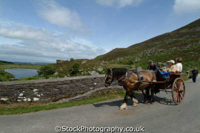 horse trap gap dunloe transport transportation uk kerry ciarraí republic ireland eire irish irland irlanda europe european
