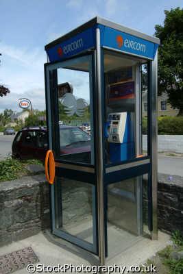 eircom phone box uk media communications telephone kerry ciarraí republic ireland eire irish irland irlanda europe european