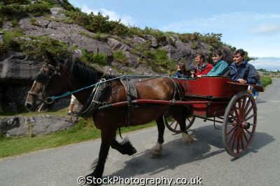 horse trap gap dunloe transport transportation uk kerry ciarraí republic ireland eire irish irland irlanda europe european