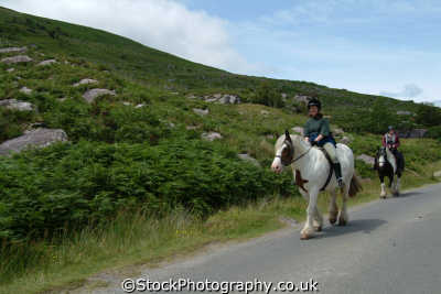 pony trekking gap dunloe leisure uk kerry ciarraí republic ireland eire irish irland irlanda europe european