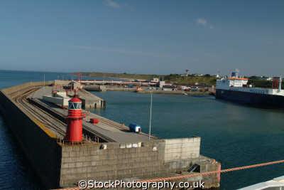 rosslare harbour wall harbor uk coastline coastal environmental republic ireland eire irish irland irlanda europe european
