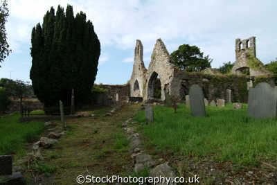 derelict church wexford uk cathedrals worship religion christian british architecture architectural buildings ruins republic ireland eire irish irland irlanda europe european