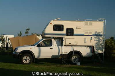 coachbuilt pickup van camping caravanning leisure uk republic ireland eire irish irland irlanda europe european united kingdom british
