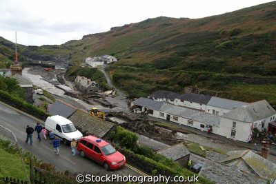 boscastle flooding environmental uk disaster floods global warming cornwall cornish england english angleterre inghilterra inglaterra united kingdom british
