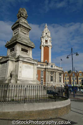 lambeth town hall monument brixton hill halls local government buildings architecture london capital england english uk council cockney angleterre inghilterra inglaterra united kingdom british