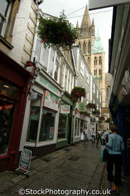truro lanes south west england southwest country english uk cornish cornwall angleterre inghilterra inglaterra united kingdom british