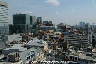 city london rooftops looking eastcheap fenchurch street famous sights capital england english uk aerial cockney angleterre inghilterra inglaterra united kingdom british