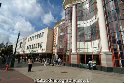 shopping ilford shops buildings architecture london capital england english uk redbridge cockney angleterre inghilterra inglaterra united kingdom british