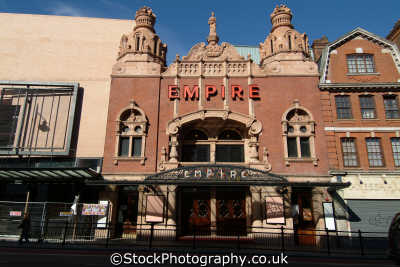hackney empire theatres theatrical buildings architecture london capital england english uk cockney angleterre inghilterra inglaterra united kingdom british