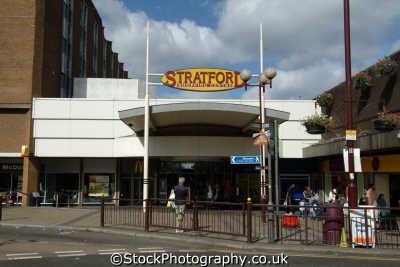 stratford centre shops shopping buildings architecture london capital england english uk newham cockney angleterre inghilterra inglaterra united kingdom british