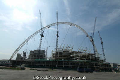 wembley stadium construction soccer football sports sporting uk brent london cockney england english angleterre inghilterra inglaterra united kingdom british
