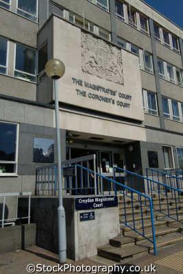 croydon magistrates coroner court law courts buildings architecture london capital england english uk cockney angleterre inghilterra inglaterra united kingdom british