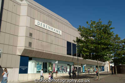 debenhams luton retailers brands branding uk business commerce bedfordshire beds england english angleterre inghilterra inglaterra united kingdom british