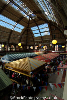 derby market hall uk markets traders commercial buildings retailers british architecture architectural derbyshire england english angleterre inghilterra inglaterra united kingdom