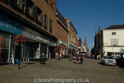 high street chesterfield north east england northeast english uk derbyshire angleterre inghilterra inglaterra united kingdom british