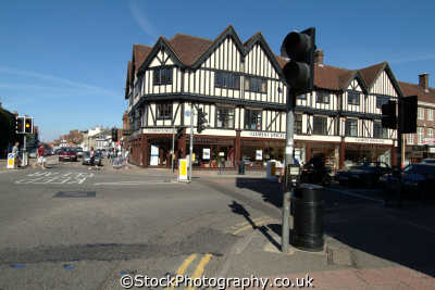 high street hitchin south east towns southeast england english uk hertfordshire herts angleterre inghilterra inglaterra united kingdom british
