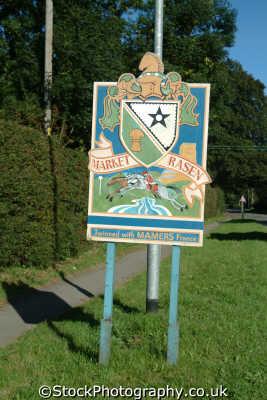 market rasen sign midlands england english uk lincolnshire lincs angleterre inghilterra inglaterra united kingdom british