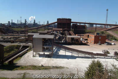 corus steelworks scunthorpe uk industrial buildings british architecture architectural lincolnshire lincs england english angleterre inghilterra inglaterra united kingdom