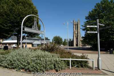 church square scunthorpe north east england northeast english uk lincolnshire lincs angleterre inghilterra inglaterra united kingdom british