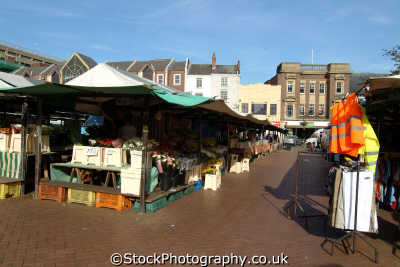 market square northampton uk markets traders commercial buildings retailers british architecture architectural northamptonshire england english angleterre inghilterra inglaterra united kingdom