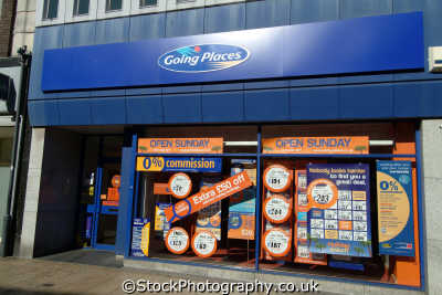 going places luton retailers brands branding uk business commerce travel agent united kingdom british