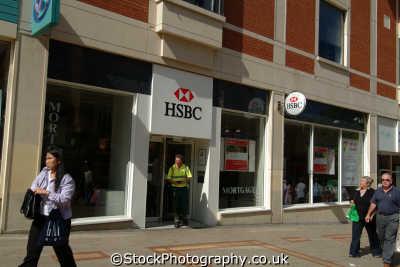 hsbc sutton banking finance brands branding uk business commerce united kingdom british