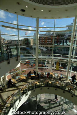 reading oracle shopping centre cafe uk centres retailers trade centers commercial buildings british architecture architectural berkshire england english angleterre inghilterra inglaterra united kingdom