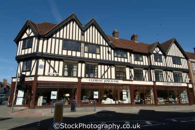 shop half timbered building hitchin buildings historical uk history british architecture architectural hertfordshire herts england english angleterre inghilterra inglaterra united kingdom