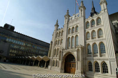 guildhall city london clock museum town halls local government buildings architecture capital england english uk cockney angleterre inghilterra inglaterra united kingdom british