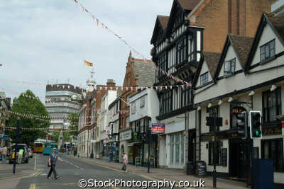 maidstone high street south east towns southeast england english uk kent angleterre inghilterra inglaterra united kingdom british