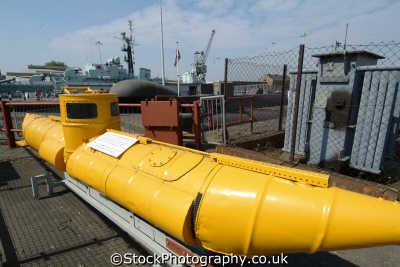 chatham docks yellow submarine home oil cans boats marine misc. medway kent england english angleterre inghilterra inglaterra united kingdom british