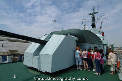 group schoolchildren school trip aboard destroyer hms cavalier chatham dockyard warships royal navy naval navies uk military militaries educational medway kent england english angleterre inghilterra inglaterra united kingdom british
