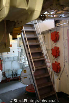 stair decks destroyer hms cavalier chatham dockyard warships royal navy naval navies uk military militaries medway kent england english angleterre inghilterra inglaterra united kingdom british
