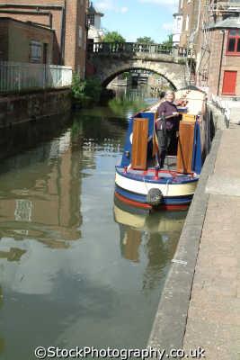 newbury narrowboat bridge kennet avon canal boats marine misc. berkshire england english angleterre inghilterra inglaterra united kingdom british
