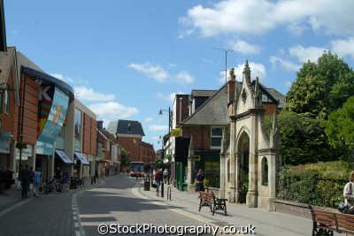 newbury bartholomew street south east towns southeast england english uk berkshire angleterre inghilterra inglaterra united kingdom british