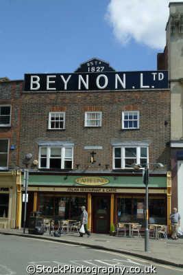 newbury distinctive benyon building market place south east towns southeast england english uk berkshire angleterre inghilterra inglaterra united kingdom british