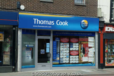 thomas cook travel agents brands branding uk business commerce united kingdom british