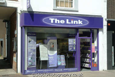 link mobile phone shop retailers brands branding uk business commerce united kingdom british